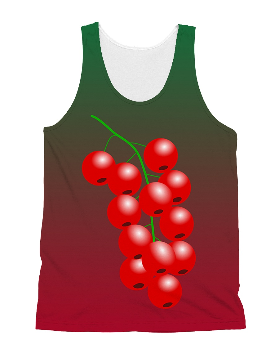 Grapes Cute All Over Tank Top All-over Unisex Tank