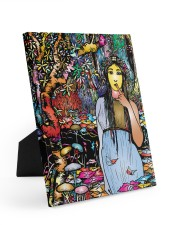 Wild Girl 8x10 Easel-Back Gallery Wrapped Canvas thumbnail