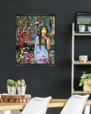 Wild Girl 16x20 Black Hanging Canvas aos-hanging-canvas-16x20-lifestyle-front-07