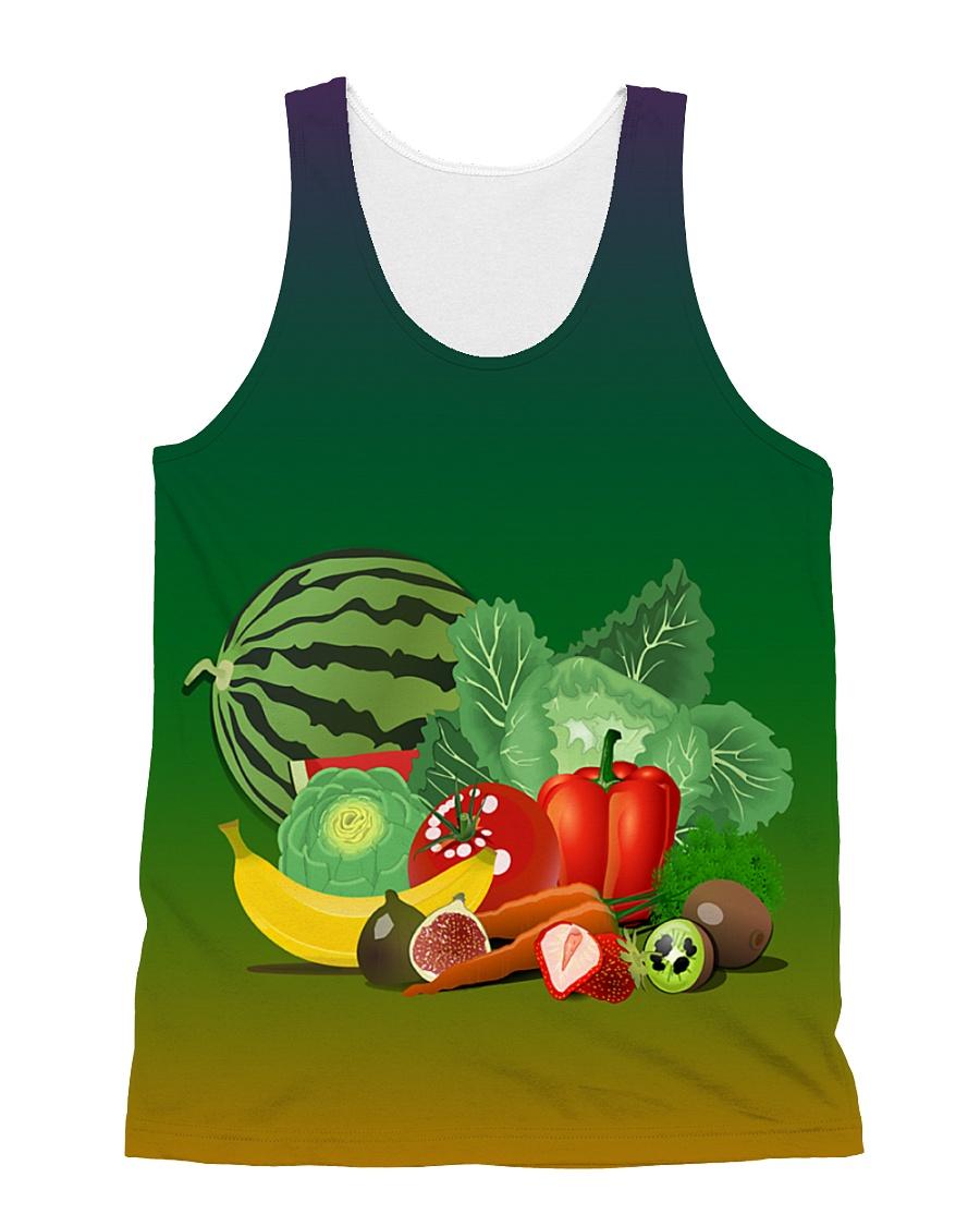 Fruit All-over Unisex Tank