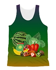 Fruit All-over Unisex Tank front