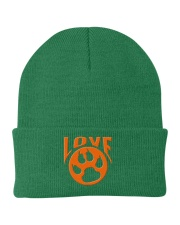 I Love My Dog And Cat Knit Beanie tile