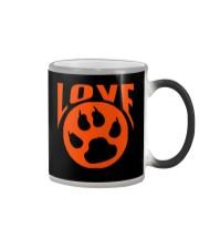 I Love My Dog And Cat Color Changing Mug thumbnail