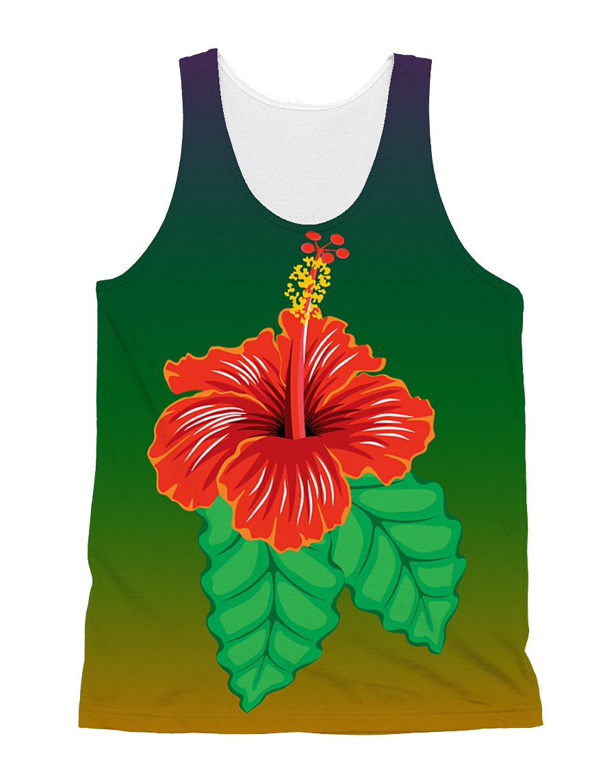 Cute Flower All Over Tank Top All-over Unisex Tank