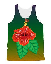 Cute Flower All Over Tank Top All-over Unisex Tank front