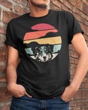 Australian Shepherd Retro Style Classic T-Shirt apparel-classic-tshirt-lifestyle-26