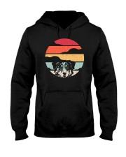 Australian Shepherd Retro Style Hooded Sweatshirt thumbnail