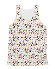 Autumn Flower Pattern All-over Unisex Tank front