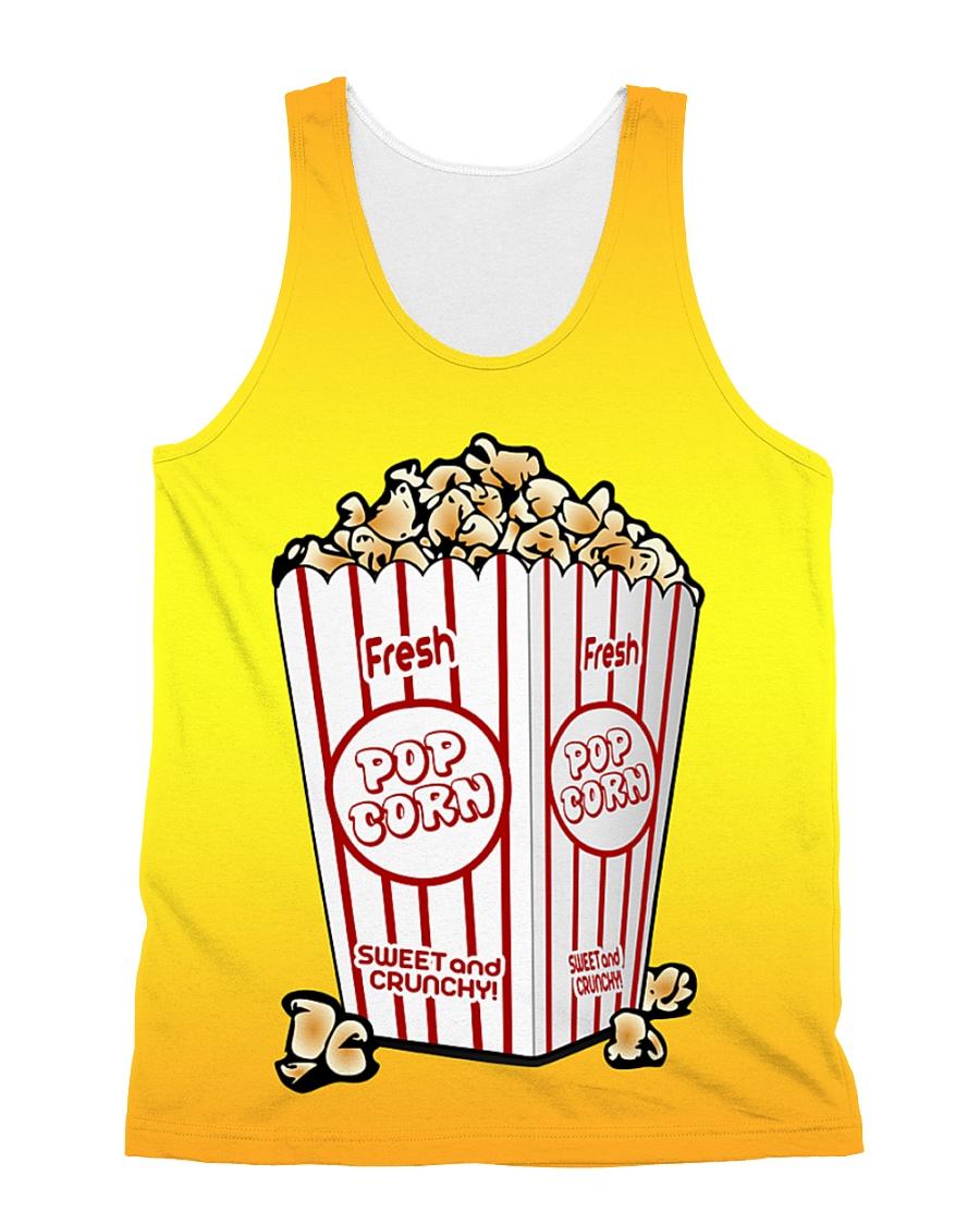 Popcorn All-over Unisex Tank