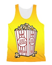Popcorn All-over Unisex Tank front