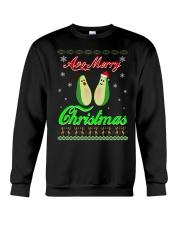 Avocado Ugly Christmas Sweater Crewneck Sweatshirt front
