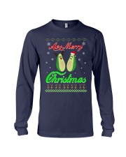 Avocado Ugly Christmas Sweater Long Sleeve Tee thumbnail