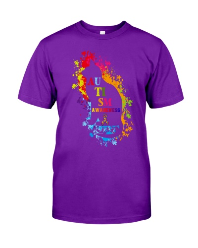 Autism Awareness For Cat Lovers T-shirt