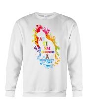 Autism Awareness For Cat Lovers T-shirt Crewneck Sweatshirt front