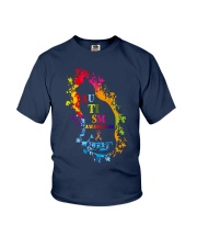 Autism Awareness For Cat Lovers T-shirt Youth T-Shirt thumbnail