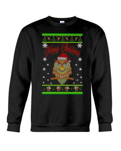 Owl Merry Christmas Hoodies