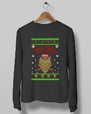 Owl Merry Christmas Hoodies Crewneck Sweatshirt lifestyle-unisex-sweatshirt-front-10