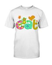 cat t-shirt for kids Classic T-Shirt thumbnail