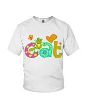 cat t-shirt for kids Youth T-Shirt front
