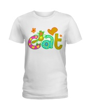 cat t-shirt for kids Ladies T-Shirt thumbnail
