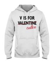 V is For Vodka Hooded Sweatshirt thumbnail