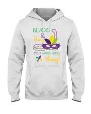 Beads Bling Mardi Gras Thing Hooded Sweatshirt thumbnail