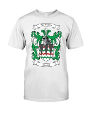 Caudill Family Crest Classic T-Shirt front