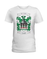 Caudill Family Crest Ladies T-Shirt thumbnail