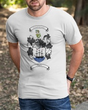 Myers Family Crest Classic T-Shirt apparel-classic-tshirt-lifestyle-front-52