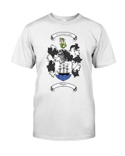 Myers Family Crest Classic T-Shirt front