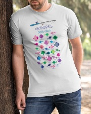 Custom Grandpa's Best Catch Classic T-Shirt apparel-classic-tshirt-lifestyle-front-51