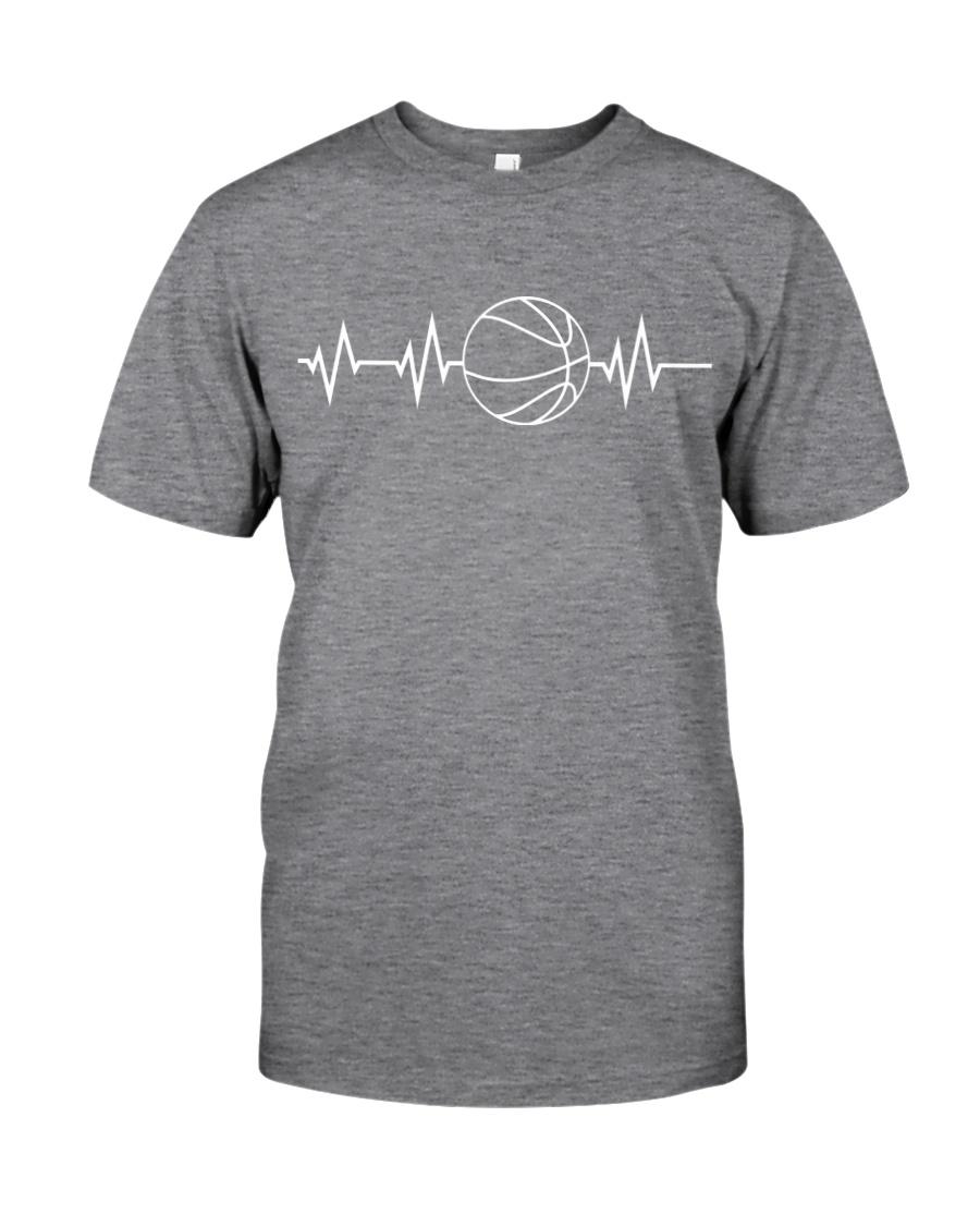 Heartbeat Basketball Custom Classic T-Shirt