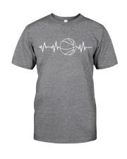 Heartbeat Basketball Custom Classic T-Shirt front