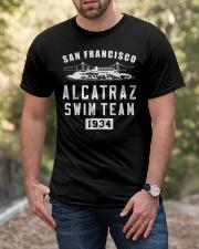 Alcatraz Swim Team Classic T-Shirt apparel-classic-tshirt-lifestyle-front-53