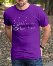 Inhale the Future Exhale the Past Classic T-Shirt apparel-classic-tshirt-lifestyle-front-52