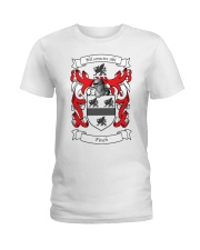 Finch Family Crest Ladies T-Shirt thumbnail