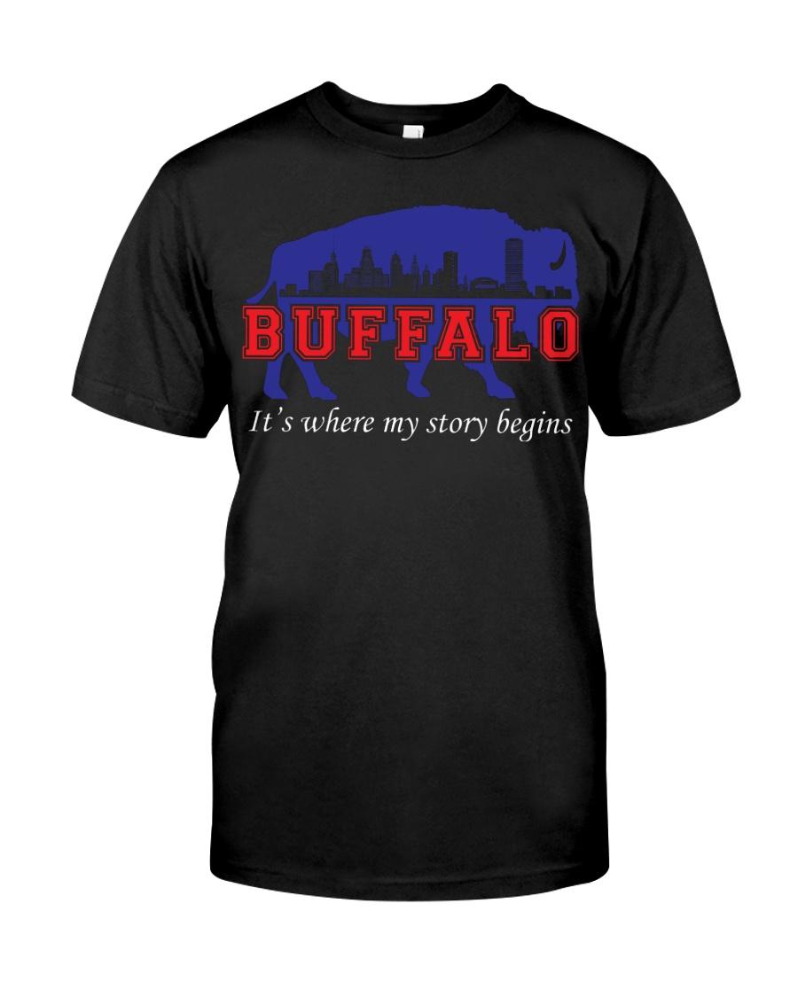 Buffalo Where My Story Begins Classic T-Shirt