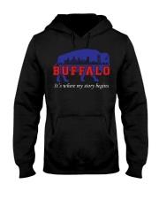 Buffalo Where My Story Begins Hooded Sweatshirt thumbnail