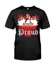 Polish and Proud Classic T-Shirt front