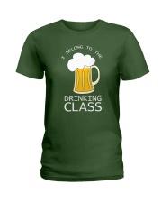 Drinking Class Ladies T-Shirt thumbnail