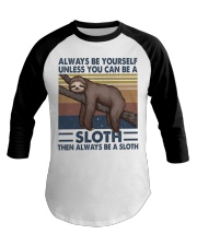 Always Be Yourself Baseball Tee tile