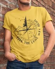 Take The Long Way Home Classic T-Shirt apparel-classic-tshirt-lifestyle-26