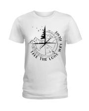 Take The Long Way Home Ladies T-Shirt thumbnail