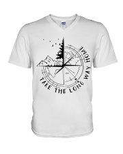 Take The Long Way Home V-Neck T-Shirt thumbnail