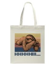 HHHHiii Funny Sloth Tote Bag thumbnail