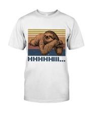 HHHHiii Funny Sloth Classic T-Shirt thumbnail