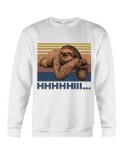 HHHHiii Funny Sloth Crewneck Sweatshirt thumbnail