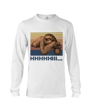 HHHHiii Funny Sloth Long Sleeve Tee thumbnail