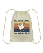 Mess With The Honk Drawstring Bag thumbnail
