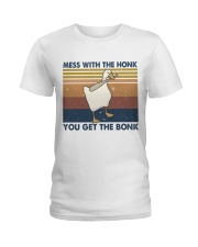 Mess With The Honk Ladies T-Shirt thumbnail